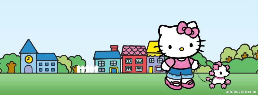 Hello Kitty Pet Facebook Covers