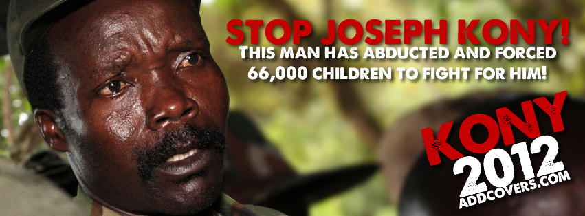 Stop Joseph Kony Facebook Covers