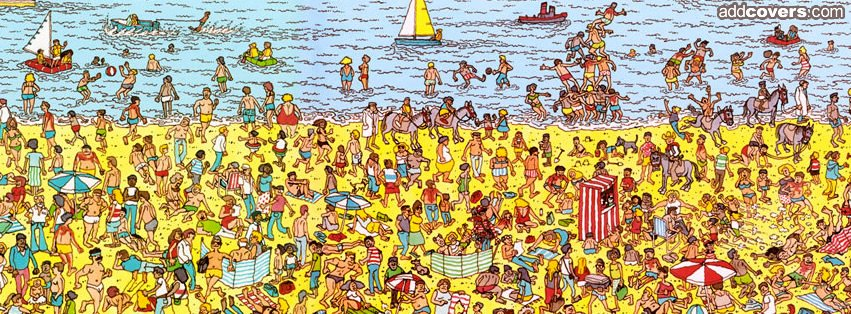 Where's Waldo {Other Facebook Timeline Cover Picture, Other Facebook Timeline image free, Other Facebook Timeline Banner}