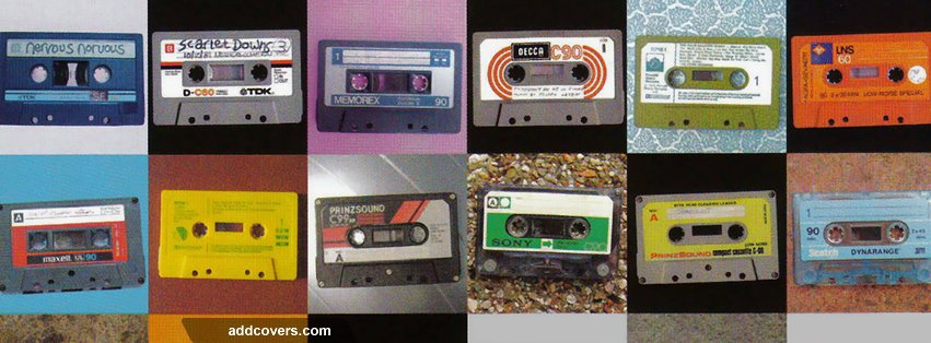 Classic Tape Collage Facebook Covers