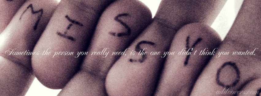 I Miss You {Sad & Heartbreak Facebook Timeline Cover Picture, Sad & Heartbreak Facebook Timeline image free, Sad & Heartbreak Facebook Timeline Banner}