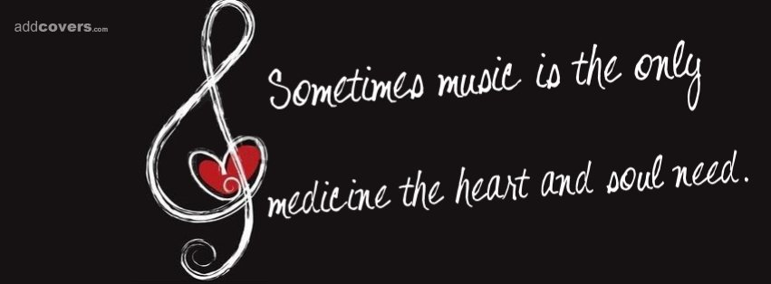 Music is Medicine Facebook Covers