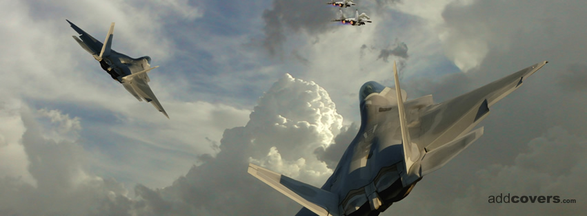 Jets Dogfight Facebook Covers