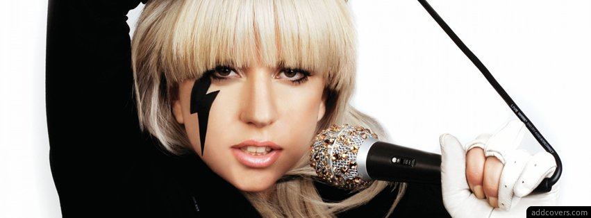 Lady Gaga {Female Singers Facebook Timeline Cover Picture, Female Singers Facebook Timeline image free, Female Singers Facebook Timeline Banner}