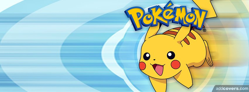Pokemon Pikachu Facebook Covers