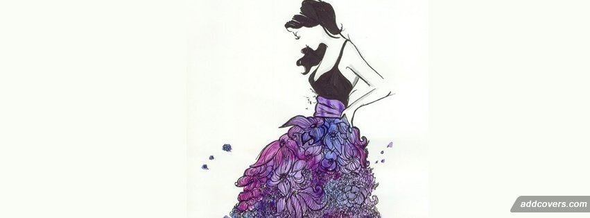 Flower Dress Fashion Facebook Timeline Cover Picture Image Free