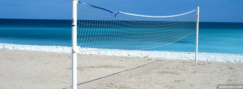 Beach Volleyball Facebook Covers