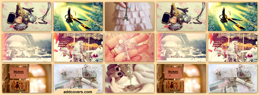 Paris Stuff {Collages Facebook Timeline Cover Picture, Collages Facebook Timeline image free, Collages Facebook Timeline Banner}