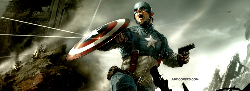 Captain America Facebook Covers