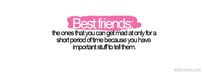 Best Friends {Friendship Facebook Timeline Cover Picture, Friendship Facebook Timeline image free, Friendship Facebook Timeline Banner}