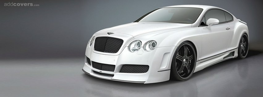 White Bentley {Cars Facebook Timeline Cover Picture, Cars Facebook Timeline image free, Cars Facebook Timeline Banner}