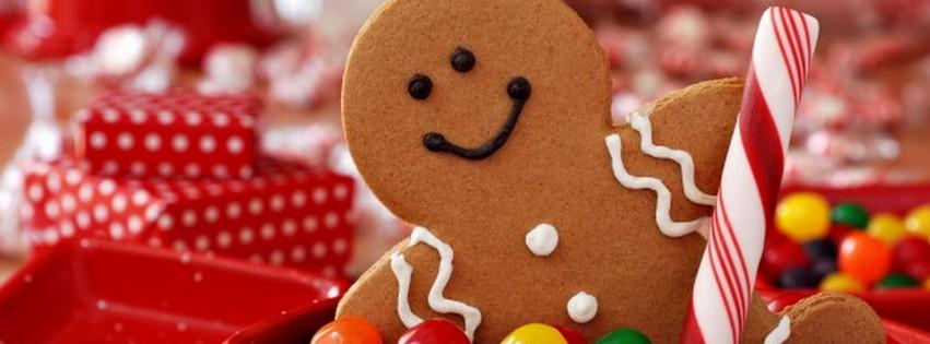 Gingerbread Man {Holidays Facebook Timeline Cover Picture, Holidays Facebook Timeline image free, Holidays Facebook Timeline Banner}