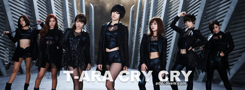 T-ara Cry Cry Facebook Covers