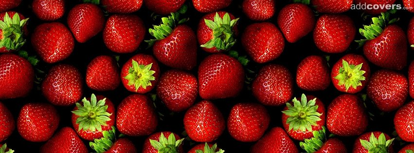 Strawberries {Food & Candy Facebook Timeline Cover Picture, Food & Candy Facebook Timeline image free, Food & Candy Facebook Timeline Banner}