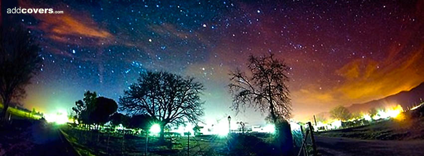 Nature Colors For Facebook Colorful Night Sky Facebook