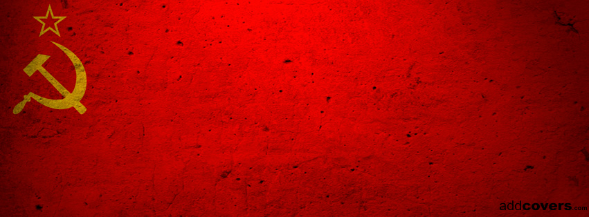 Soviet Flag Facebook Covers