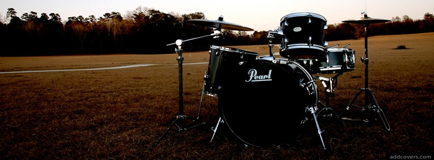 Drums {Music Instruments Facebook Timeline Cover Picture, Music Instruments Facebook Timeline image free, Music Instruments Facebook Timeline Banner}