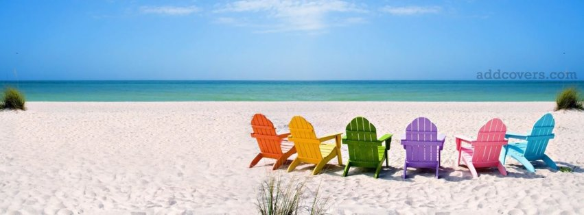 Colorful Beach {Pictures Facebook Timeline Cover Picture, Pictures Facebook Timeline image free, Pictures Facebook Timeline Banner}