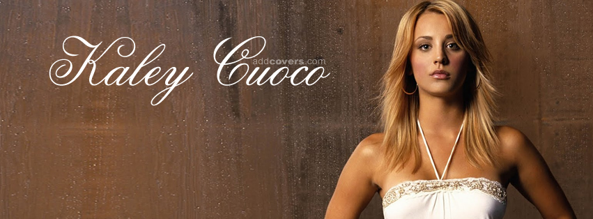 Kaley Cuoco Facebook Covers