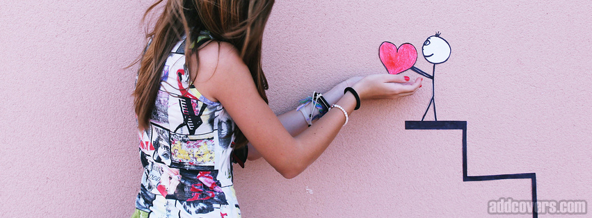 Little Heart Facebook Covers