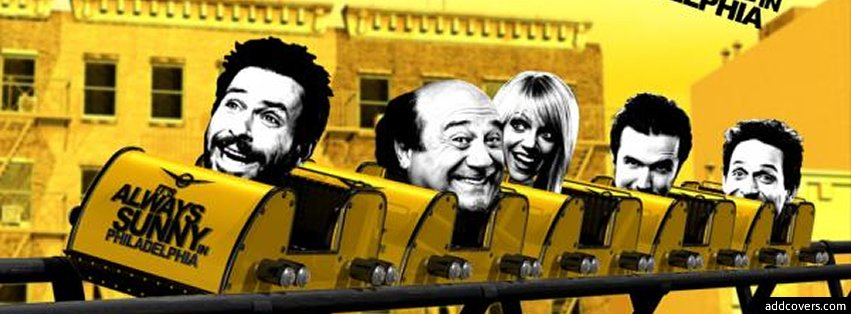 Its always sunny in philadelphia {Television Facebook Timeline Cover Picture, Television Facebook Timeline image free, Television Facebook Timeline Banner}