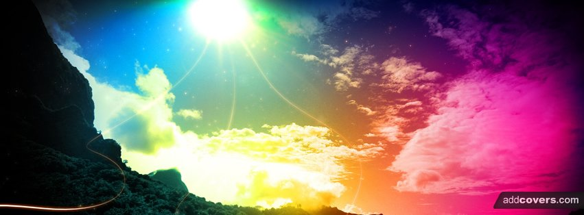 Coloful skies Facebook Covers