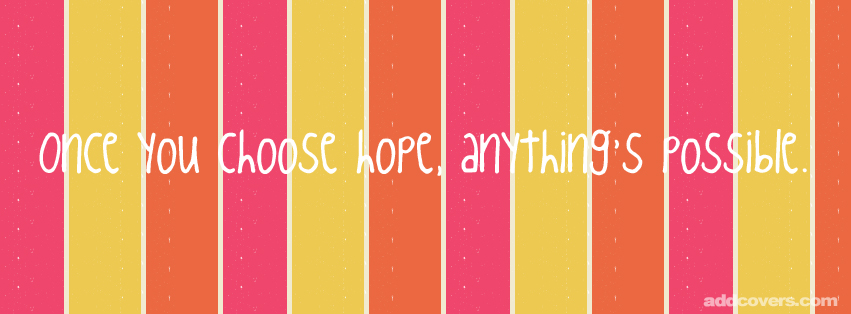 Hope Quote Facebook Covers