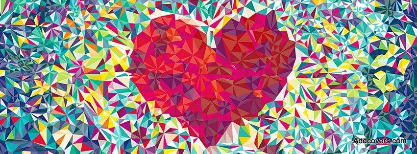 Creative Heart Mosaic {Love Facebook Timeline Cover Picture, Love Facebook Timeline image free, Love Facebook Timeline Banner}