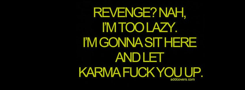 Revenge Facebook Covers