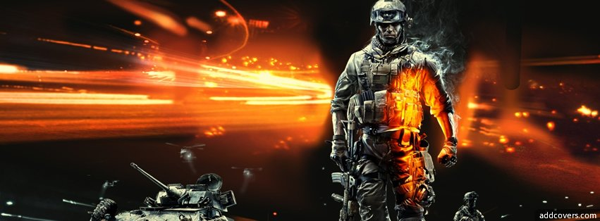 Battlefield 3 Facebook Covers