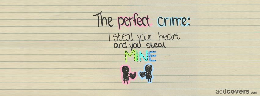 Perfect Crime Facebook Covers