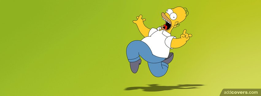 Homer Simpson Silly {Cartoons Facebook Timeline Cover Picture, Cartoons Facebook Timeline image free, Cartoons Facebook Timeline Banner}