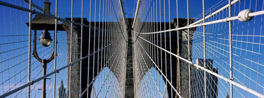 Brooklyn Bridge in New York {Cities & Landmarks Facebook Timeline Cover Picture, Cities & Landmarks Facebook Timeline image free, Cities & Landmarks Facebook Timeline Banner}