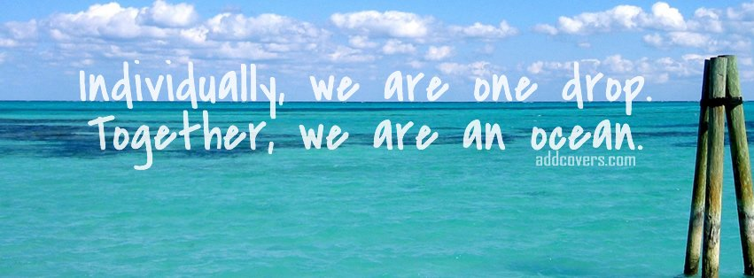 We are an ocean facebook covers for timeline for Covers from the ocean