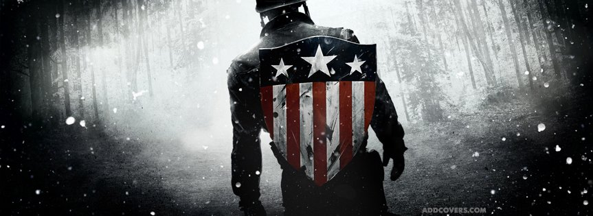 Captain America {Movies Facebook Timeline Cover Picture, Movies Facebook Timeline image free, Movies Facebook Timeline Banner}