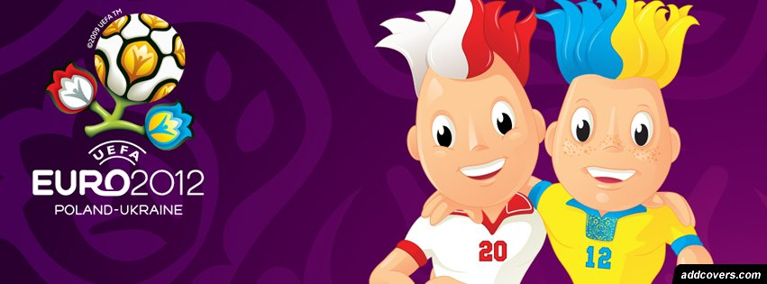Euro Cup 2012 Mascots {Soccer Facebook Timeline Cover Picture, Soccer Facebook Timeline image free, Soccer Facebook Timeline Banner}