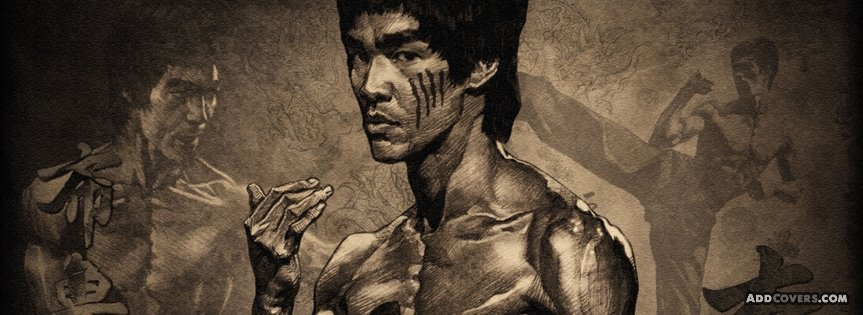 Bruce Lee Facebook Covers