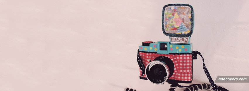 Retro Camera Facebook Covers