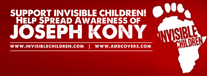 Who is Joseph Kony Facebook Covers