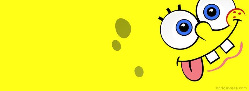 Spongebob Face {Cartoons Facebook Timeline Cover Picture, Cartoons Facebook Timeline image free, Cartoons Facebook Timeline Banner}