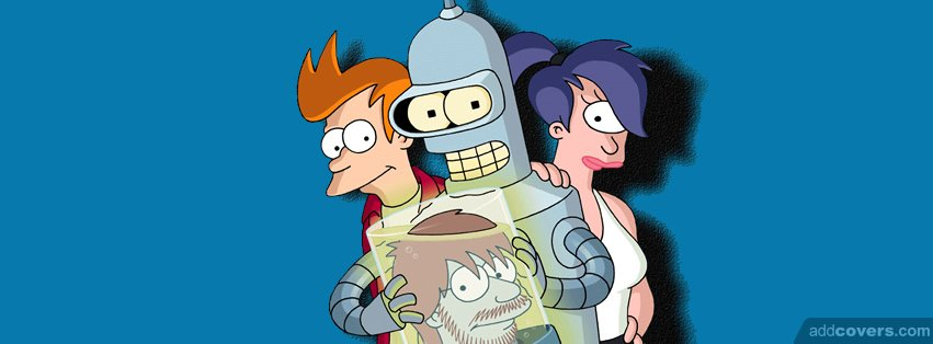 Futurama Facebook Covers