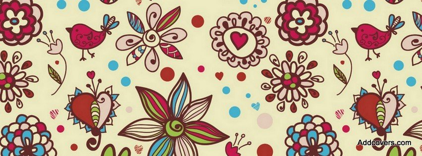 Image result for FLORAL PATTERN fb covers