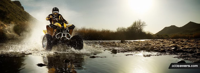 ATV Racing Facebook Covers