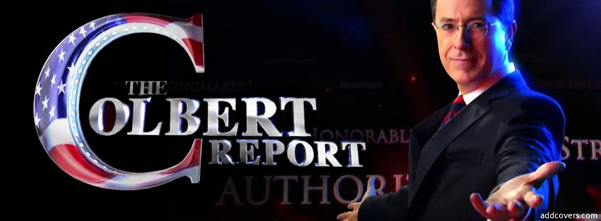 The Colbert Report Facebook Covers
