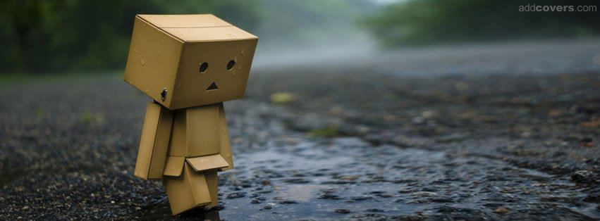 Sad box Facebook Covers