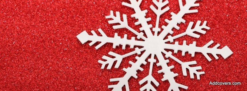 Glitter Snowflake {Holidays Facebook Timeline Cover Picture, Holidays Facebook Timeline image free, Holidays Facebook Timeline Banner}