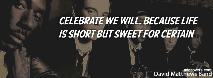 Celebrate we will Facebook Covers
