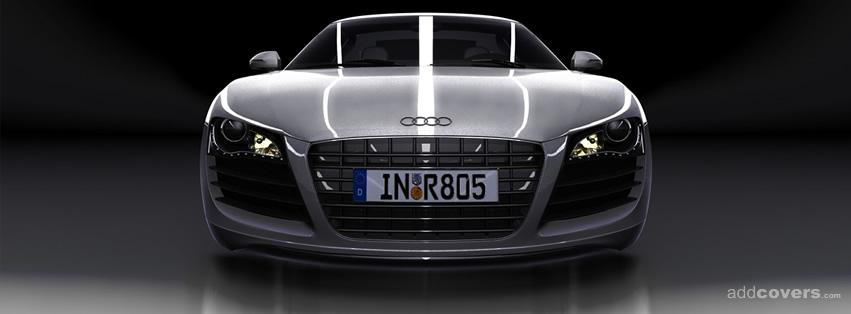 Front Audi R8 {Cars Facebook Timeline Cover Picture, Cars Facebook Timeline image free, Cars Facebook Timeline Banner}