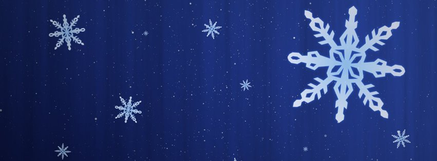 Snowflake Facebook Covers