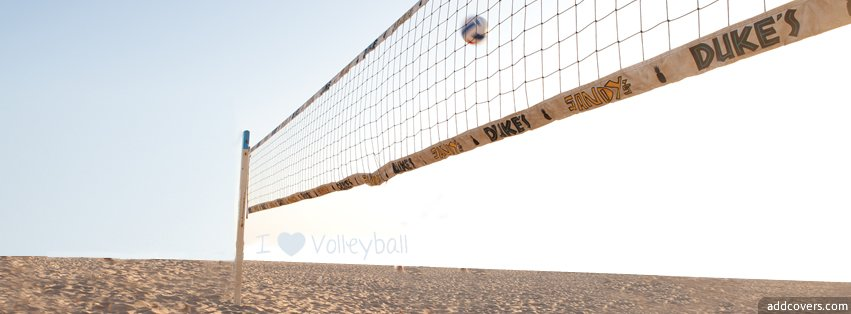 I love volleyball Facebook Covers for Timeline.